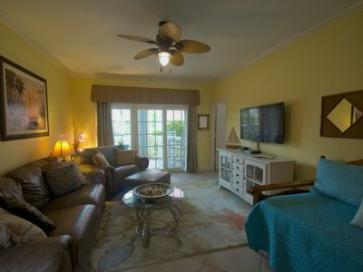 Photo for Handicapped accessible except for patio door; Beach across the street; Spa, WiFi