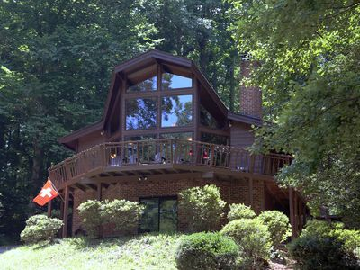 Photo for Cabin in the countryside of Virginia on 5 acres for your relaxing getaway.