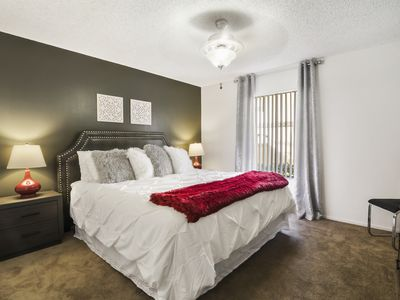 Photo for King Bed | Fast WiFi | Parking | Disney | UCI | Pack 'n Play & High Chair