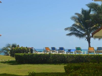 Photo for Luxury 2 BR condo: Just the Pool between you and the Beach!