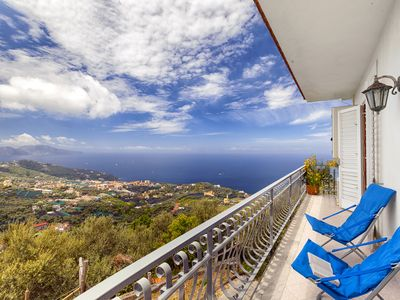 Photo for Casa Le Tre Isole with Private Terraces, Sea View and Parking