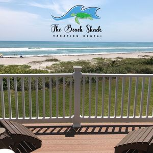 Photo for THE BEACH SHACK, a Luxury oceanfront townhouse on quiet corner of Indialantic!