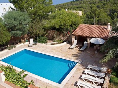 Photo for Lovely Villa Sand in Ibiza, with private pool, 4 bedrooms, 8 sleeps.