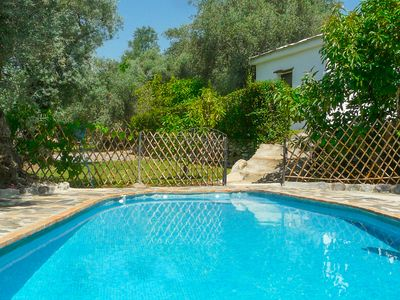 Photo for Holiday cottages with view secluded swimming pool