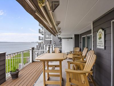 Photo for Great Location - Direct Bayfront with Pool & Tennis - Near Beach & Boardwalk!