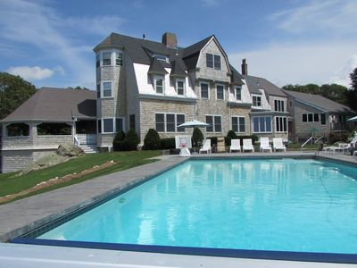 Photo for 9 Bedroom West Falmouth Cape Cod Estate with Dramatic Buzzards Bay Views