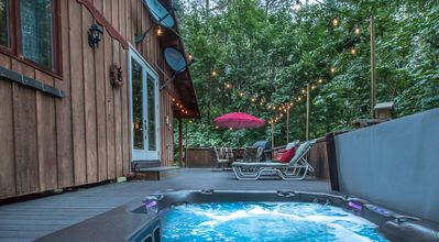 Your own private hot tub under the stars.