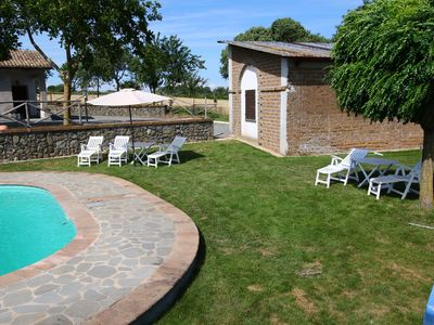 Photo for Farmhouse with pool in an area with history, nature and art