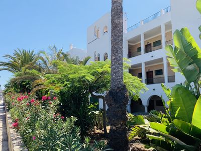 Photo for Nice apartment located in a quiet area on the beach of Bahia Feliz.