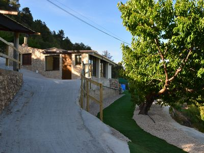 Photo for Farm Casita with spectacular views of the River Ebro and village of Benifallet