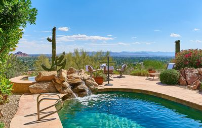 Photo for Wonderview Retreat | Near Old Town Scottsdale | Private Pool & Hot Tub | Theater Room | Concierge