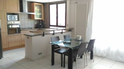 Photo for Nice apartment near downtown Annecy