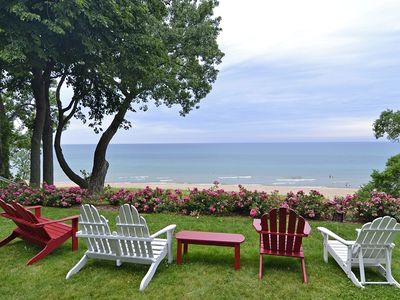 Photo for Lakefront Mansion:  Luxurious and Modern 9 BR Home On Private Sandy Beach
