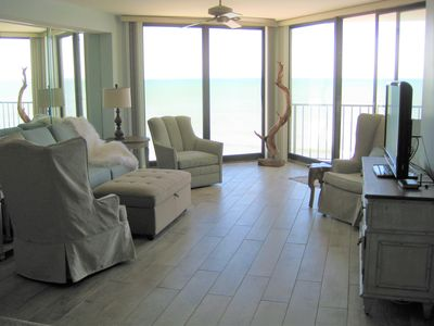 Photo for NEWLY Renovated! Sensational Oceanfront and Beach Views 2BD/2BR
