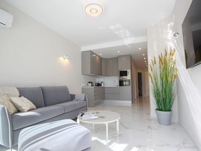 Photo for Luxury apartment in El Duque, first line of the beach