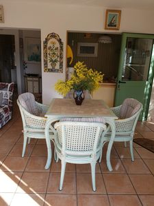 Photo for A MENTON Nice 2 rooms 40 terrace 20m2, air conditioning, free wifi. car park