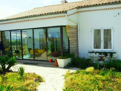Photo for Pretty House Facing The Sea! La Bree Les Bains, Island of Oleron