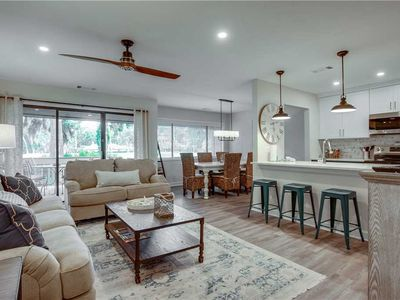 Photo for 217 Turnberry | NEWLY RENOVATED | Amazing Fazio Golf Course Views | Complex Pool | Palmetto Dunes