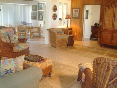 Photo for Shady Palms - Genuine Gulf-Front House - Just One Step from Backyard to Beach!