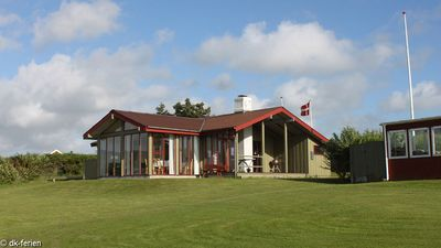 Photo for Inviting cottage on a hillside with great views of the Limfjord