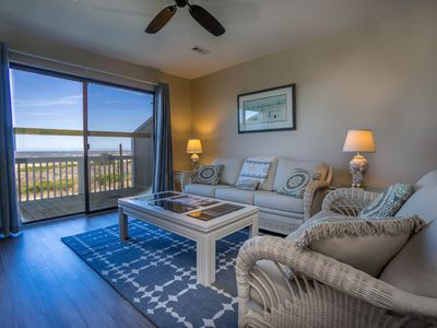 Photo for Ocean Front - K Building Unit with New Decks Between 2 Pools!