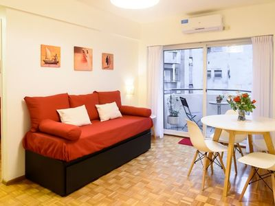 Apartment in De Mayo Avenue for 4 persons