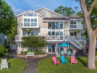 Photo for Stunning Luxury Pewaukee Lake Home - Sailing Paradise
