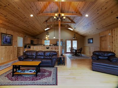 Photo for Helena`s Haven - Secluded, Hot Tub, Pet Friendly, Wood Fireplaces