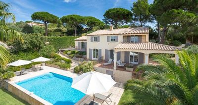 Photo for Luxury family home in St Tropez, close to the beach and close to the town.