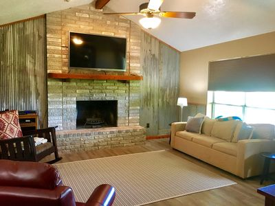 Photo for The River House- 3BDR/2BTH- Sleeps 10 Guests Along the San Marcos River!!