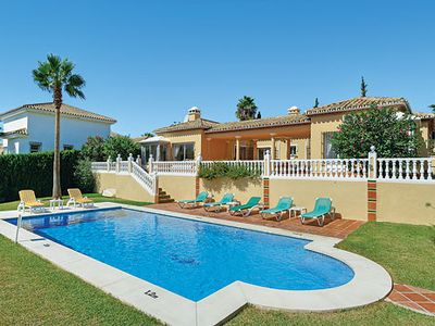Photo for Beautiful family villa w/ Wi-Fi, satellite TV, pool and nearby facilities