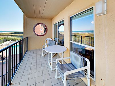 Photo for Oceanfront 2BR Condo w/ Pool, Hot Tub- Steps to Beach Suntide ii 207