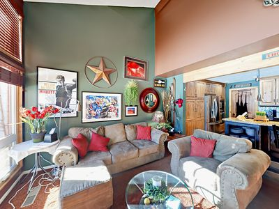 Photo for Spacious & Charming 4BR w/ 3 Living Areas - 2 Minutes to Ski Resort Base