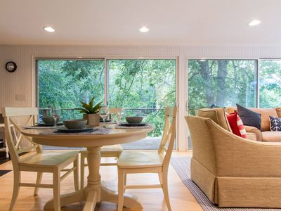 Photo for wellfleet modern home - walk to the bay/tennis/basketball court access!