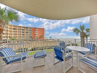 Photo for NEW LISTING! Spacious oceanfront condo w/shared indoor/outdoor pool w/hot tub