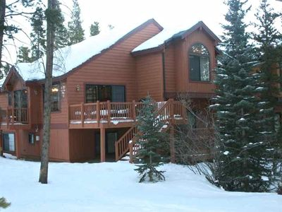 Photo for Luxury Ski Home, Private Hot Tub  Walk In/ Walk Out to Slopes