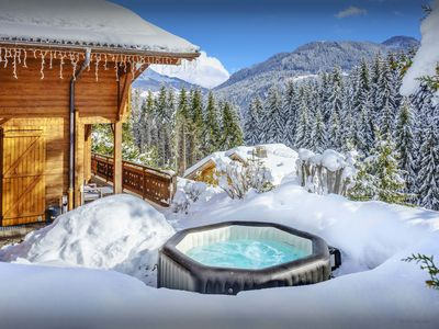 Photo for 5* Great skiing for all levels at luxury chalet near pistes - OVO Network
