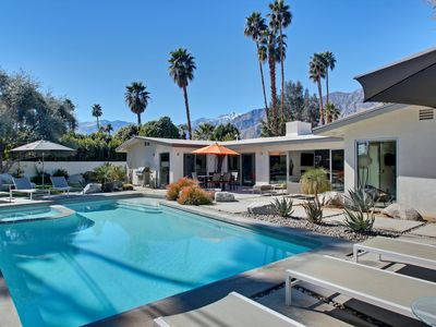 Photo for Remodeled Mid-Mod Home, Pool, Spa, Bocce Ball, Bikes, Fun!