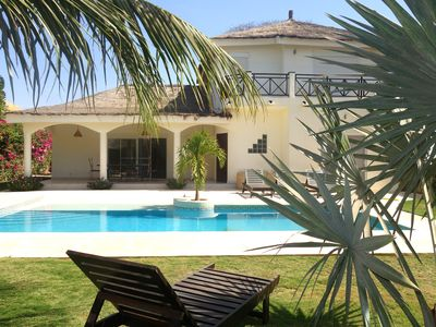 Photo for Luxury villa in Ngaparou (Saly) - Pool with beach - 40m from the sea