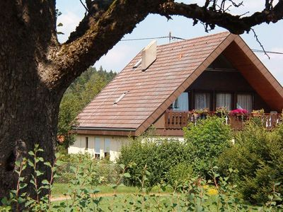 Photo for Cosy flat with a large covered balcony at the edge of the eastern part of the Black Forest