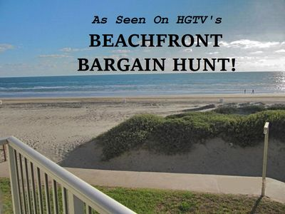 Photo for Great Deal!! Featured on HGTV, OCEANFRONT, Great Views, Steps to Beach