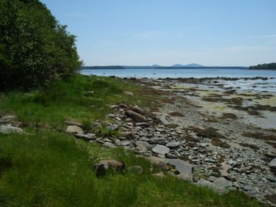 View down bay toward MDI