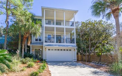 Photo for Gulf Views in Old Seagrove Beach, Private Pool, Walk To Seaside!