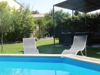 Photo for Bastide 120m² in gated community, 3 bdrms (sleeps 6), 1 bathroom, 1 pool HS