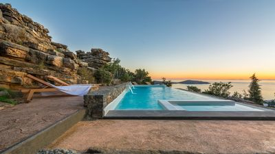 Photo for Ecofriendly villa in Elounda with private pool and panoramic sea views