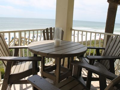 Photo for Ultimate Gulf-front 4BR 3BA: Excellent Location with Large Balcony