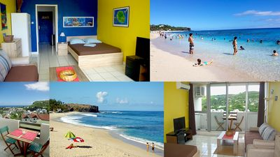 Photo for Charming Studio with beautiful sea view & beach Boucan Canot. Ideal situation!