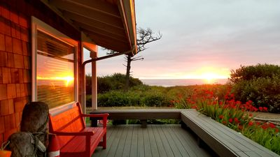 Yachats Oregon Coast True Oceanfront | Best Bargain Out There!