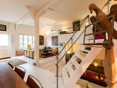 Photo for MULTI LEVAL LOFT HOUSE * Quiet & Spacious SEMINAR WORK SPACE * COSY FAMILY HOME