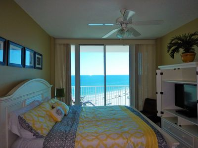 Wake up in Paradise.  King bed.  Master Suite with Jacuzzi.